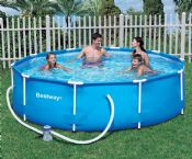 Bestway 12ft x 30in Steel Pro Frame Garden Pool